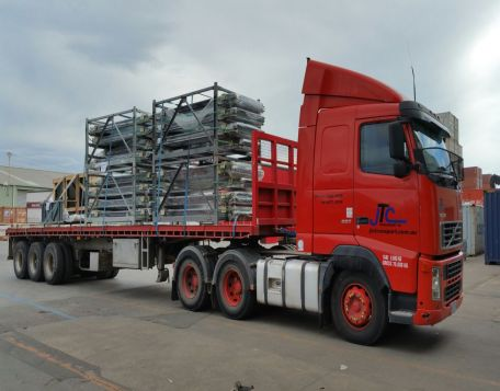 long truck for transport