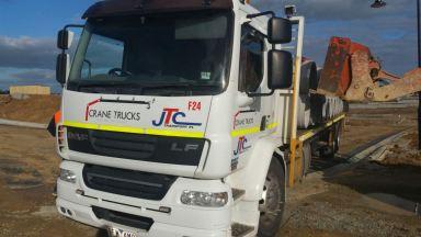 Crane Truck Hire - Crane Hire Melbourne - Truck Hire - JTC